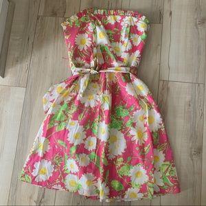 Women's Lilly Pulitzer Briddie strapless dress 4